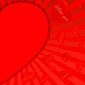 Saint-Valentin background-11 rouge Photographie stock