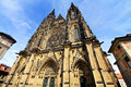 Saint Vitus cathedral,  Prague Stock Image