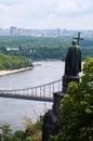 Saint Vladimir monument in Kiev Royalty Free Stock Photo