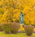 Saint Winifred statue patron saint of mariners