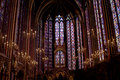 Sainte Chapelle Stock Image