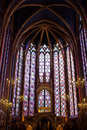 Sainte-Chapelle (Holy Chapel) in Paris Royalty Free Stock Photography