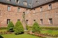 Sainte odile monastery in ottrott france the Stock Photos