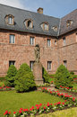 Sainte odile monastery in ottrott france the Stock Photography