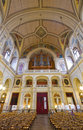 Sainte-Trinite Church wide angle view Royalty Free Stock Photos