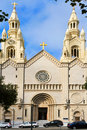 Saints Peter and Paul Church in San Francisco Stock Photos
