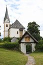 Saints primus and felician church in maria wörth is a municipality the district of klagenfurt land the austrian state of Stock Photos