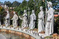 Saints Statues Gramado Brazil Royalty Free Stock Photo