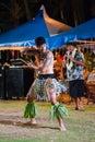 Saipan Aboriginal song and dance performances Royalty Free Stock Photo