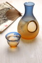 Sake is japanese traditional liquor Royalty Free Stock Image