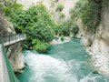 Saklikent gorge fethiye turkey Stock Photography