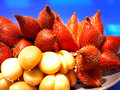 Salacca the fruits that have sweet and sour flavors Royalty Free Stock Images