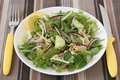 Salad with bean sprouts Royalty Free Stock Photos