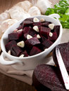 Salad with beet Stock Images