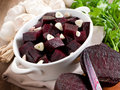 Salad with beet Royalty Free Stock Photo
