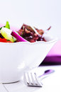Salad in a bowl Royalty Free Stock Image