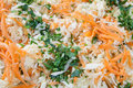 Salad with cabbage and carrot Royalty Free Stock Images