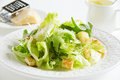 Salad Caesar. Royalty Free Stock Photo