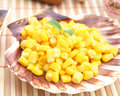Salad of corn a yellow Royalty Free Stock Images