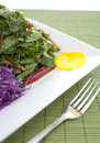 Salad food shot Stock Photography