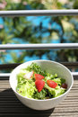 Salad fresh green it is good for diet and good health Stock Image