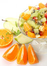 Salad from fruit Royalty Free Stock Images