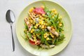 Salad with grilled chicken Stock Photography