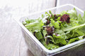 Salad, ready to eat the supermarket. Royalty Free Stock Photo