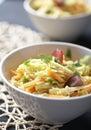 Salad rice Royalty Free Stock Photo