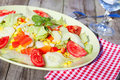 Salada do legume fresco Foto de Stock Royalty Free