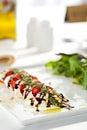 Salade caprese Photo stock