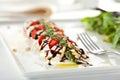 Salade caprese Images stock