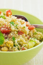 Salade saine de quinoa Photos stock