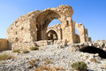 Saladin Castle in Shobak Royalty Free Stock Photo