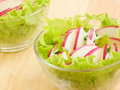 Salads Stock Photography