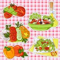 Salads stickers
