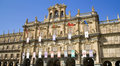 Salamanca Main Square Royalty Free Stock Photography