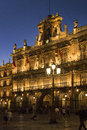 Salamanca - Plaza Major - Spain Stock Images