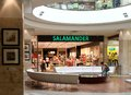 Salamander shop in mall Royalty Free Stock Photography