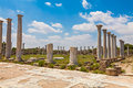 Salamis ruins in northern cyprus Stock Images