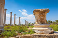 Salamis ruins in northern cyprus Stock Photo