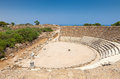 Salamis ruins in northern cyprus Royalty Free Stock Photography