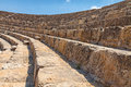 Salamis ruins in northern cyprus Royalty Free Stock Image