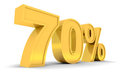 Sale 70% Royalty Free Stock Image