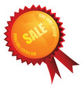 Sale badge Royalty Free Stock Photography