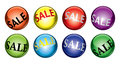 Sale balls Stock Photo