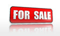 For sale banner Stock Images