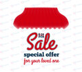 Sale banner - special offer for your loved one.