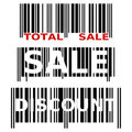 Sale Barcodes Royalty Free Stock Image