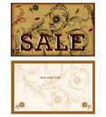 Sale Card design Royalty Free Stock Images